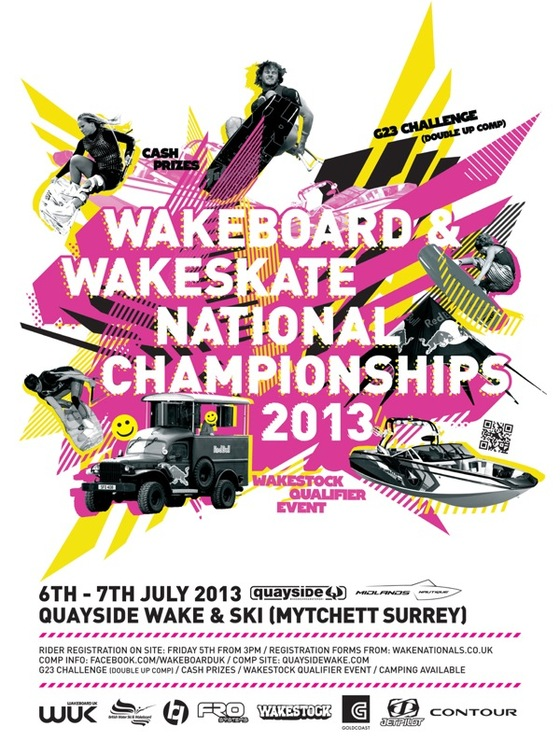 2013 Wakeboard and Wakeskate National Championships 6th-7th July 2013