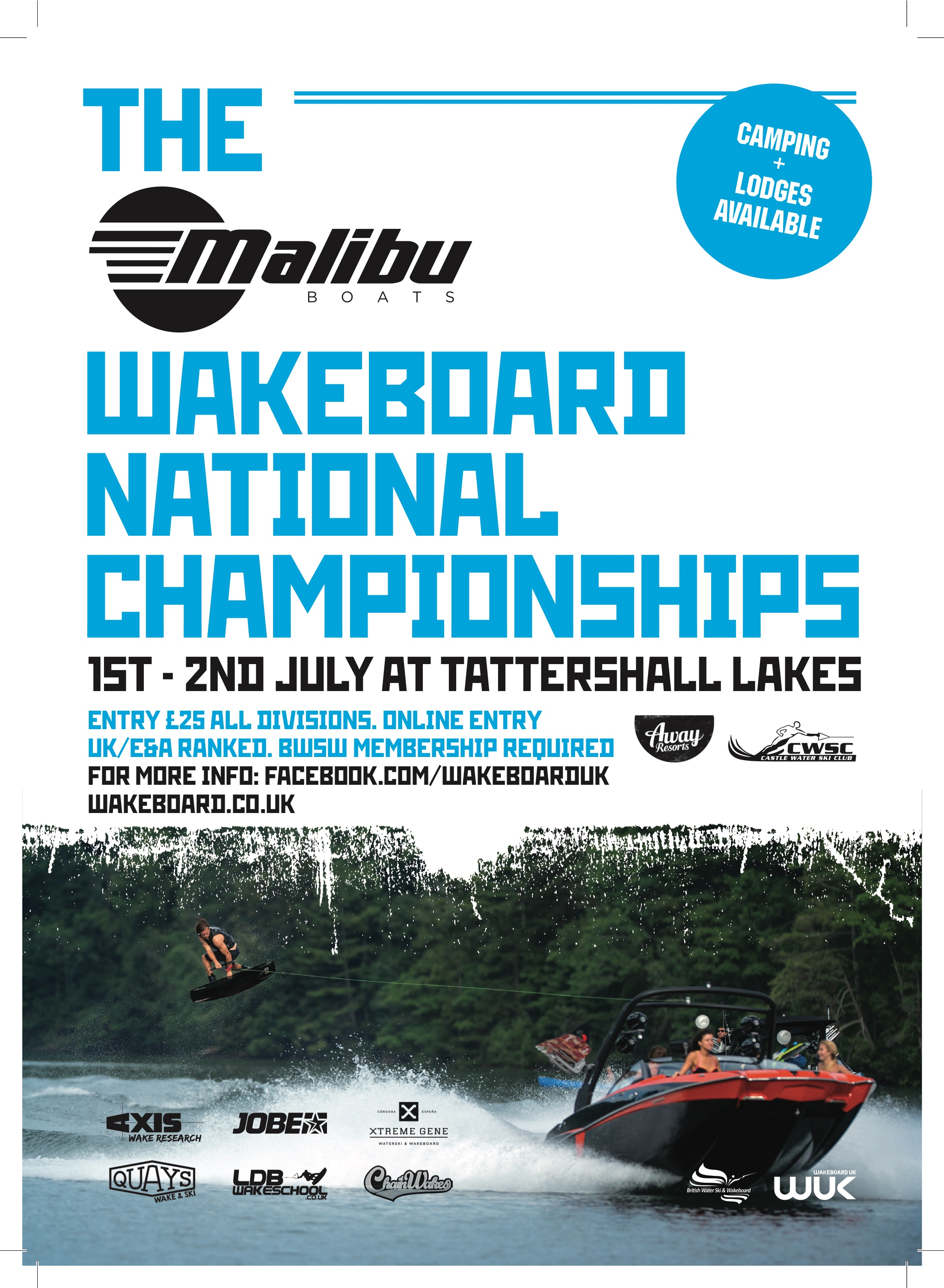 Enter the Malibu Boats Wakeboard National Championships 2017