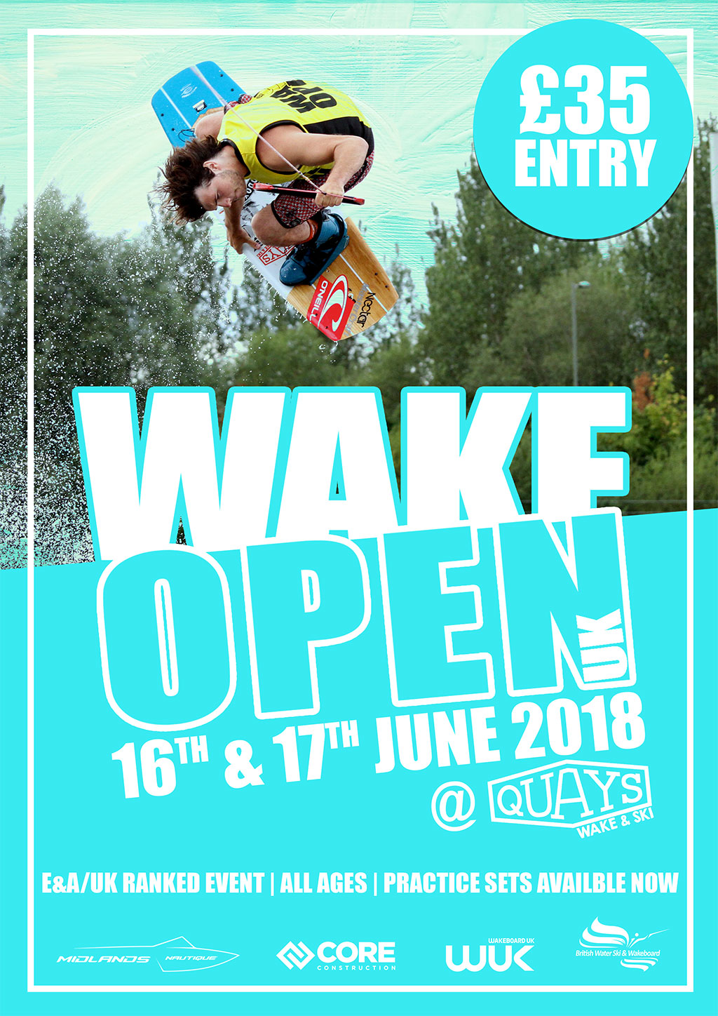 2018 Wake Open UK