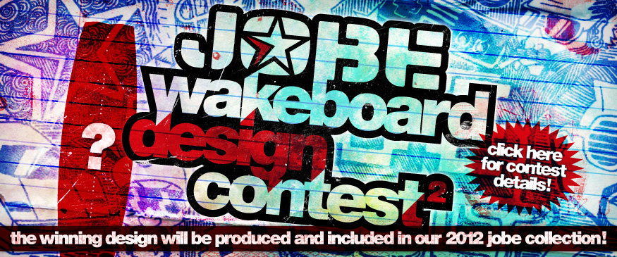 Jobe Wakeboard Design Contest Announced