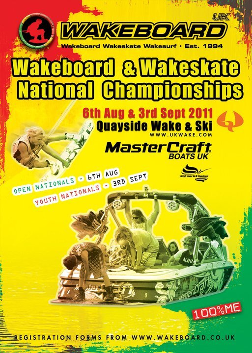 Wakeboard UK 2011 Open Nationals this weekend!