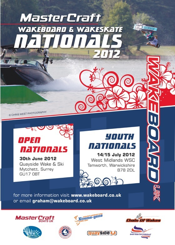 Enter the Mastercraft UK Wakeboard 2012 Open Nationals