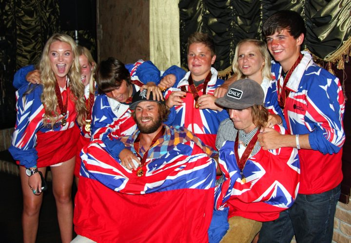 Team GB Win Team Gold at 2012 Euro Championships with 3 Golds and 2 Silvers