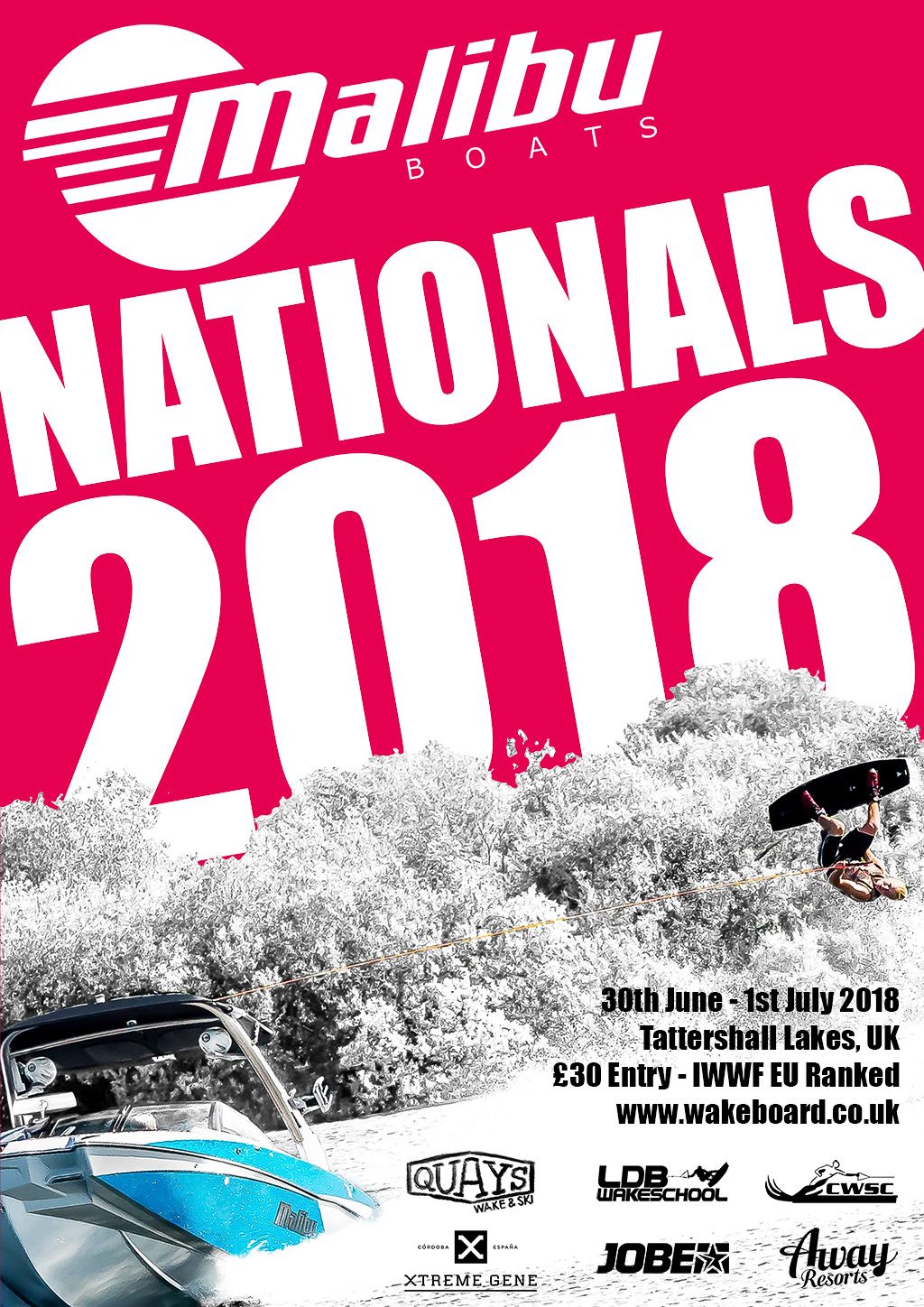 2018 Malibu Boats UK Wakeboard National Championships Report
