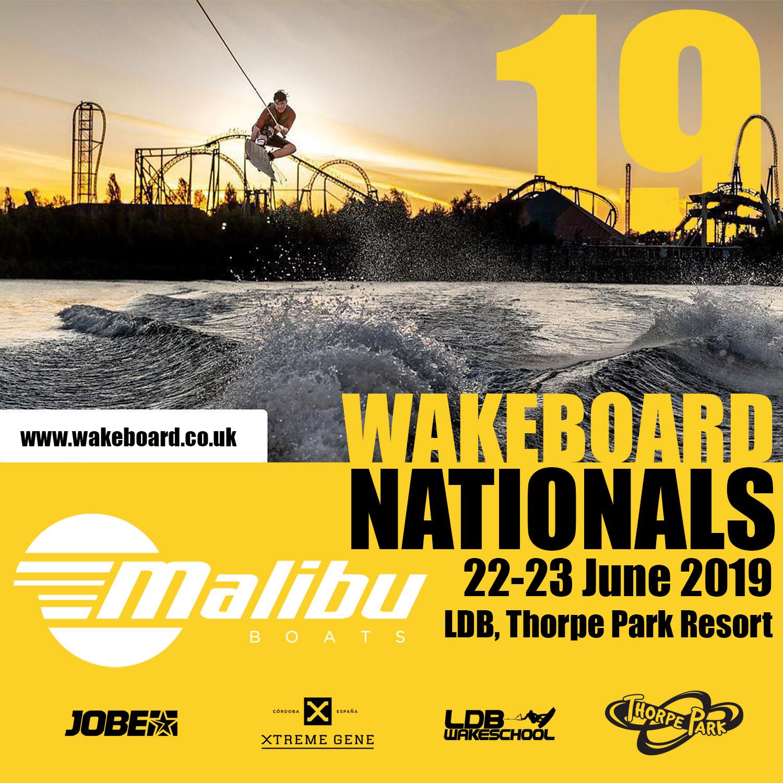 2019 Malibu Boats UK Wakeboard Nationals Announced
